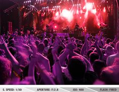Concert Photography Tips - Band at rock music concert Band Photography, Popular Photography, Concert Photography, Photography Ideas, Action Photography, Night Photography, Photography Tutorials, Life Photography, Concert Crowd