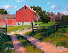 Morning at Michael's by Susan Ogilvie Pastel ~ 11 x 14