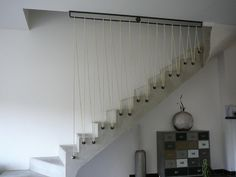 Super Creative staircase railing fabrication just on tanzania home design Staircase Railings, Banisters, Staircase Design, Stairways, Diy Interior, Interior Decorating, Interior Design, Indoor Railing, Mid Century Modern Sideboard