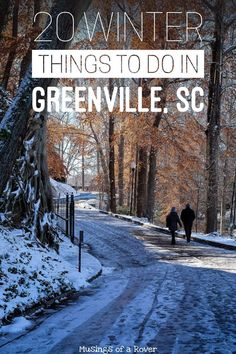 Traveling to Greenville, South Carolina this winter or Christmas? Or are you a local looking for something to do this weekend? Here are 20 things to keep you busy! Everything from holiday festivals, shopping, holiday lights, and hockey to everyday activities like hiking Table Rock, cutting down your christmas tree, brewery hopping, visiting the biltmore, and more. travel tips, travel advice, greenville sc things to do, greenville south carolina things to do via @musingsofarover #traveladvice