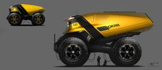ArtStation - Caterpillar Carrier Truck, Arthur Martins