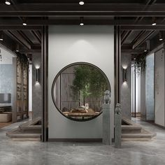 New Chinese Style Officeand Lobby model Zen Design, Asian Design, House Design, Chinese Architecture, Space Architecture, New Chinese, Chinese Style, Modern Chinese Interior, Chinese Courtyard