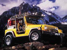 Jeep Wrangler Ultimate Rescue Concept (TJ) '1997 1997 Jeep Wrangler, Jeep Tj, Jeep Rubicon, Triumph Triple, Ducati Monster, Black Labs, Future Car, Lifted Trucks, Sport Bikes