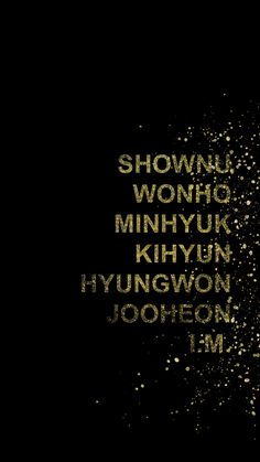 Monsta X wallpaper lockscreen shownu wonho minhyuk kihyun hyungwon jooheon i.m. kpop