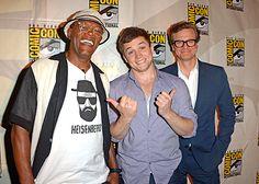 SDCC 2014 - Samuel L. Jackson, Taron Egerton, and Colin Firth - Kingsman: The Secret Service