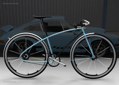 To know more about Porsche Porsche Porsche bike concept, visit Sumally, a social network that gathers together all the wanted things in the world! Featuring over other Porsche items too! Velo Design, Bicycle Design, Cool Bicycles, Cool Bikes, Vintage Bicycles, Porsche 911, Bici Fixed, Porsche Design, Cycling Bikes