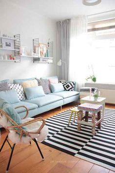 Primitive & Proper: It's Eclectic! Boogie Oogie Oogie: Sarah M. Dorsey Designs Home Tour | d r e a m h o m e | Pinterest | Pop Of Color