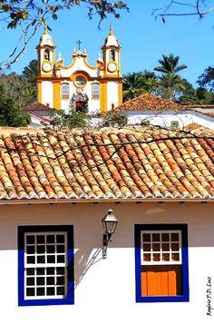 Tiradentes, cidade histórica do estado de Minas Gerais, Região Sudeste do Brasil.