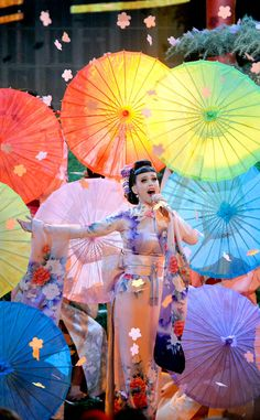 Exclusive: Katy Perry's Stylist Explains AMAs Geisha Outfit