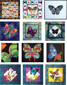 Quilt Inspiration: Best of Butterfly Quilts