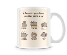 Fun-131-6-Reasons-you-should-consider-being-a-cat-Funny-gift-printed-mugs-cup