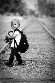 Railway tracks...