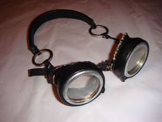 Steampunk Airship Goggles. So. Awesome. And, possibly possible for me? Perhaps?
