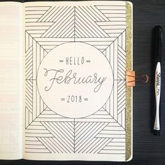 "JashiiCorrin az Instagramon: ""Hello February!  my colour theme for this month is yellow ☺️ looking forward to trying out some new monthly and weekly spreads this month!"""