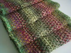 Ravelry: Cerus Scarf  free pattern by Hilary Smith Callis....linen stitch