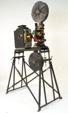 Kinemacolor, o antecedentende anterior da camara do cinema