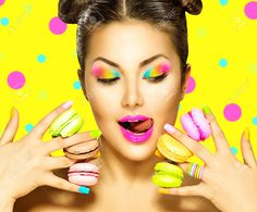 model with with yellow makeup - Google Search