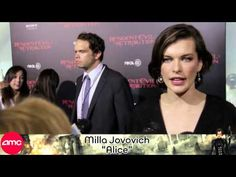 Resident Evil: Retribution Red Carpet with Milla Jovovich