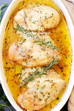 Baked-Garlic-Butter-Chicken.jpg (640×960)