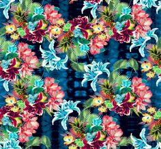 Verão 2013 floral pattern