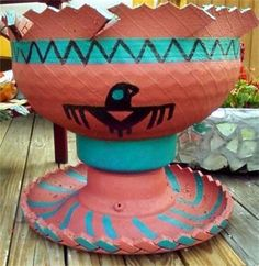 RUBBER POTTERY PLANTERS - Planters for Sale..Recycled Tire