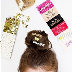 Girl Talk Ban.Do Bobby Pins (Last two photos are of the actual pins I'm selling) great condition! ban.do Accessories Hair Accessories