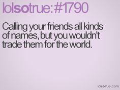 my friends are the best ღ  @Dany Lara, @emilia arnone, & @Hanna Scott