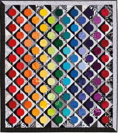 True Colors Quilt by Nancy Mahoney, in her new book ...