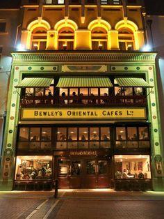 Bewleys Oriental Cafe, Grafton Street, Dublin City Centre, Ireland. Tea emporium!