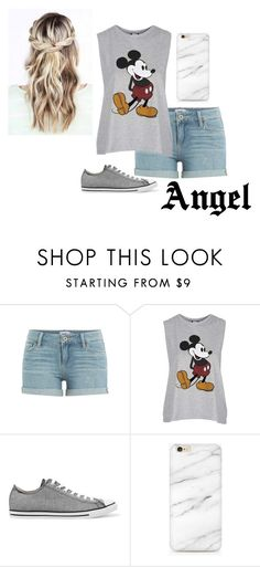 """""""Kidnapped Story Outfit (Kidnapping) (Angel)"""" by imani-loves-1d ❤ liked on Polyvore featuring Paige Denim, Topshop and Converse"""