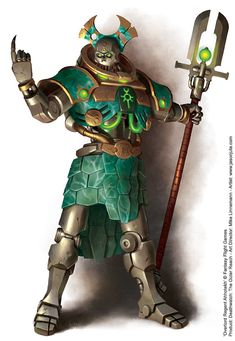 Overlord Regent Ahhotekh by jasonjuta on deviantART