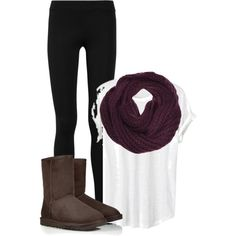"""OOTD for School"" by destinystedman on Polyvore"