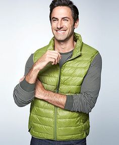 Hawke & Co. Outfitter Vest, Packable Down Solid Puffer Performance Vest