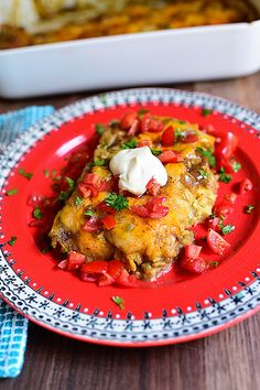 ~Chicken Enchiladas