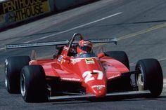 Gilles Villeneuve 1982 Long Beach