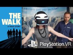 Bomber Rouge got hands on with Playstation VR to experience The Walk in this breathtaking virtual reality experience. Check out more from the bombshells: htt. Playstation, Best Virtual Reality, Drone Technology, Nanotechnology, Geek Humor, Augmented Reality, True Stories, Walking, Vr