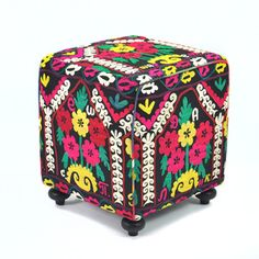Ronak Vintage Suzani Cube 18x18, $349, now featured on Fab.
