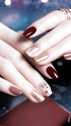 Beauty inspiring nail art designs for short nails 1 – wonders style Cute Acrylic Nails, Acrylic Nail Designs, Cute Nails, Pretty Nails, Nail Art Designs, Nails Design, Fantastic Nails, Classy Nail Art, Gelish Nails