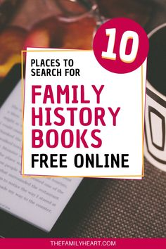 Looking for books about your ancestors? Find out which digital libraries have the best genealogy and family history books online for free! Genealogy Quotes, Free Genealogy Sites, Genealogy Chart, Genealogy Research, Family Genealogy, Family History Book, History Books, History Websites, Genealogy Organization