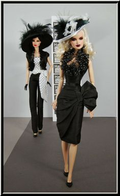 The Fashion Doll Chronicles: My extremely talented friend Maria and her Habillis Dolls Creations