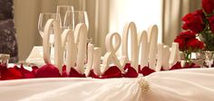 Bridal Table Decorations - Event Style