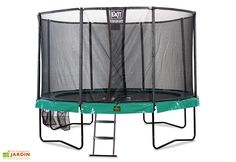 Trampoline Supreme All-in-1 avec Echelle et Filet de Sécurité Ø427 cm