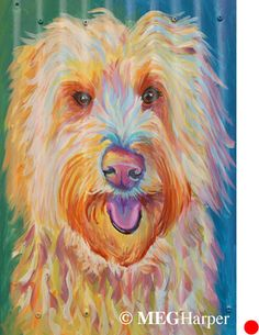Lucy Pet Portrait ~ Meg Harper ~ Meg Harper Art   Are you looking for a painting of your magnificent pet? Have Meg create a pet portrait just for you, today.    #dog #puppy #best friend #inspirational #kindness #animalpainting #art #painting #pets #petportrait #animal #love #megharper #megharperart