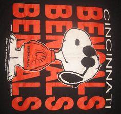 Sports-Cincinnati Bengals-Snoopy