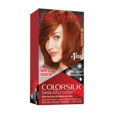 Free 2-day shipping on qualified orders over $35. Buy Revlon Colorsilk Beautiful Color, Permanent Hair Dye with Keratin, 100% Gray Coverage, Ammonia Free, 42 Medium Auburn at Walmart.com Platinum Hair Dye, Ammonia Free Hair Color, Revlon Colorsilk, How To Dye Hair At Home, Hair Color Formulas, Light Ash Blonde, Shades Of Blonde, Silk Hair, Permanent Hair Color