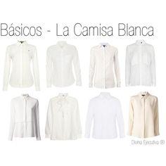 Básicos del Armario - La camisa/blusa blanca