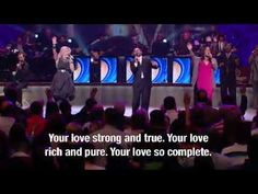 Lakewood Church Worship 8/28/11 (with strings) - Amazing Grace - Love So Amazing - Free to Worship. 15 min.