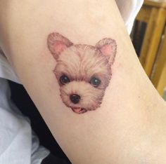 Small Dog Tattoo by Doy