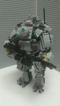 LEGO Titan - #Titanfall via Reddit user thevowel