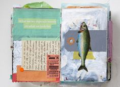 Many journal page ideas from Christine Clemmensen's blog.